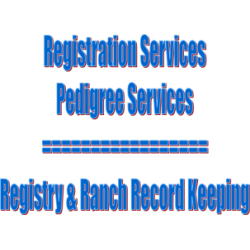 Pedigree/Registration Services